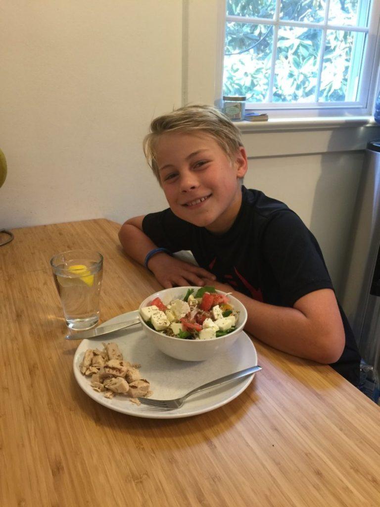 Salat for diabetikere
