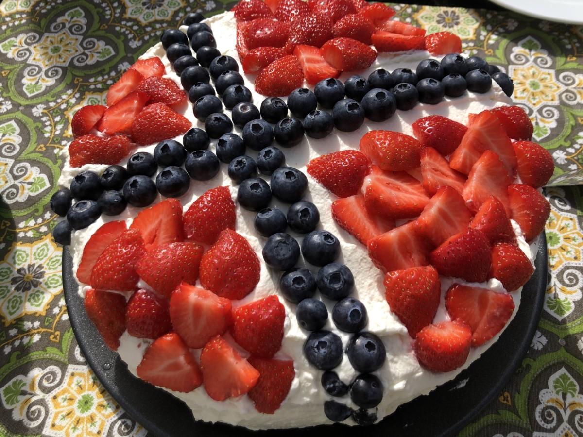 Lavkarbo bløtkake, lavkarbo festkake, 17. mai kake, diabetes, bursdagskake
