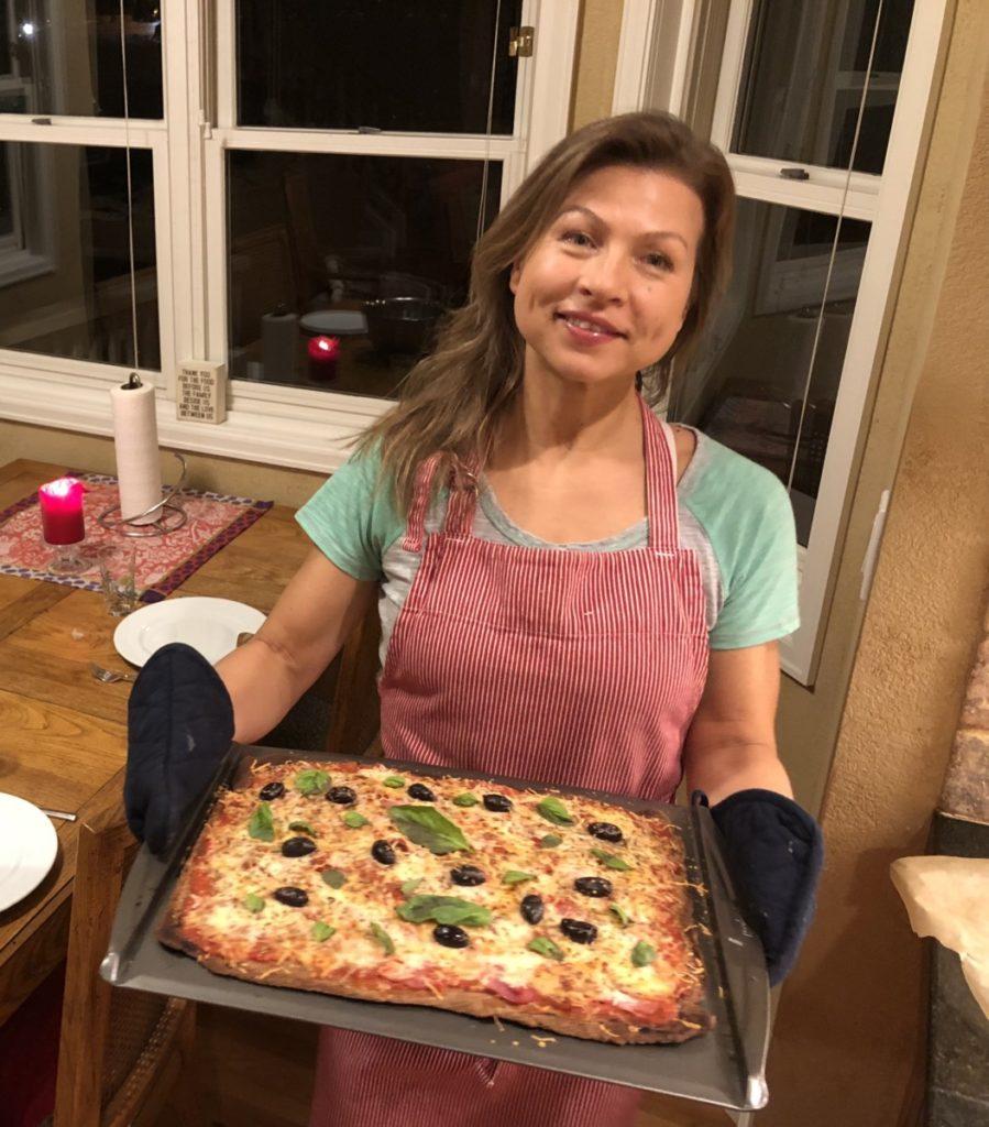 Nyt livet med lavkarbopizza